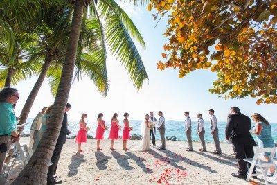 key west beach wedding ceremony