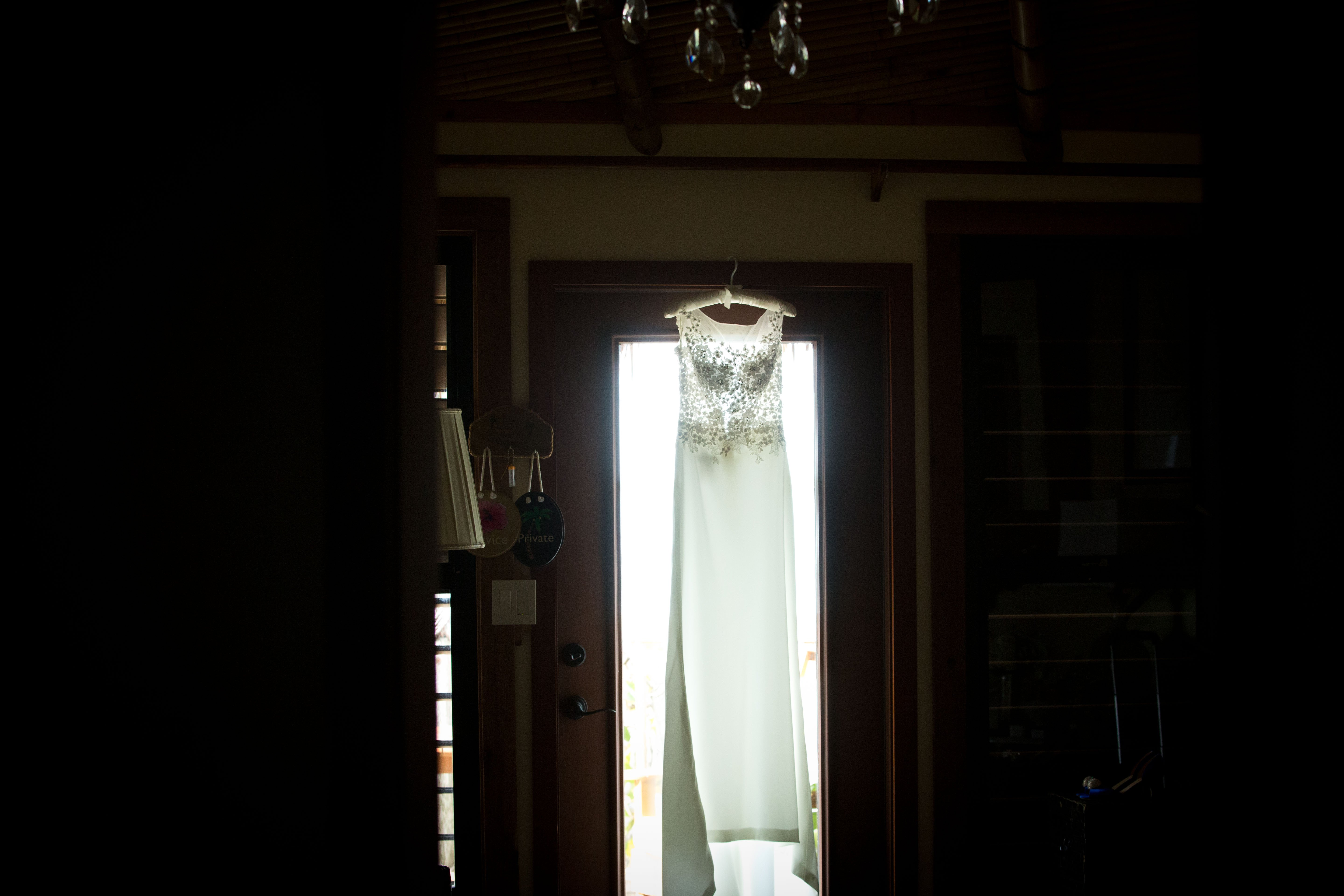 Katie's wedding dress