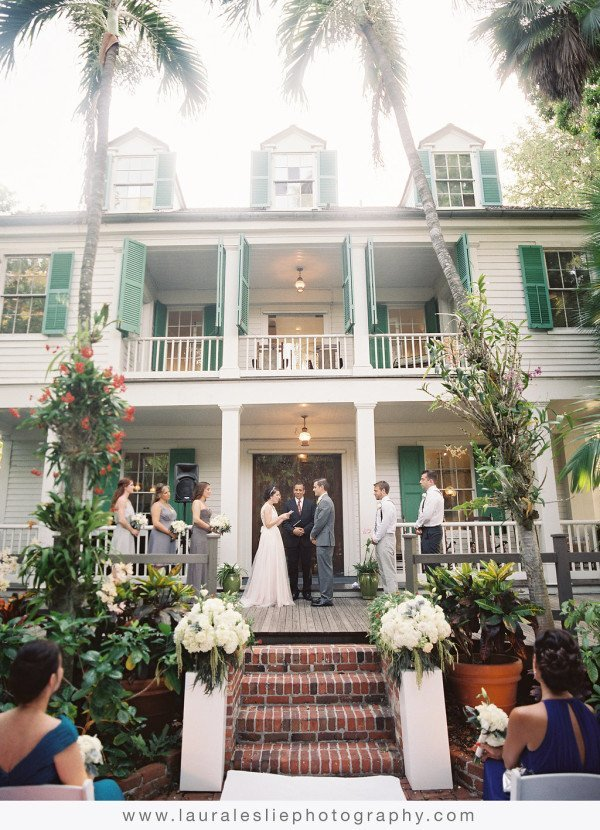 audubon house outdoor wedding