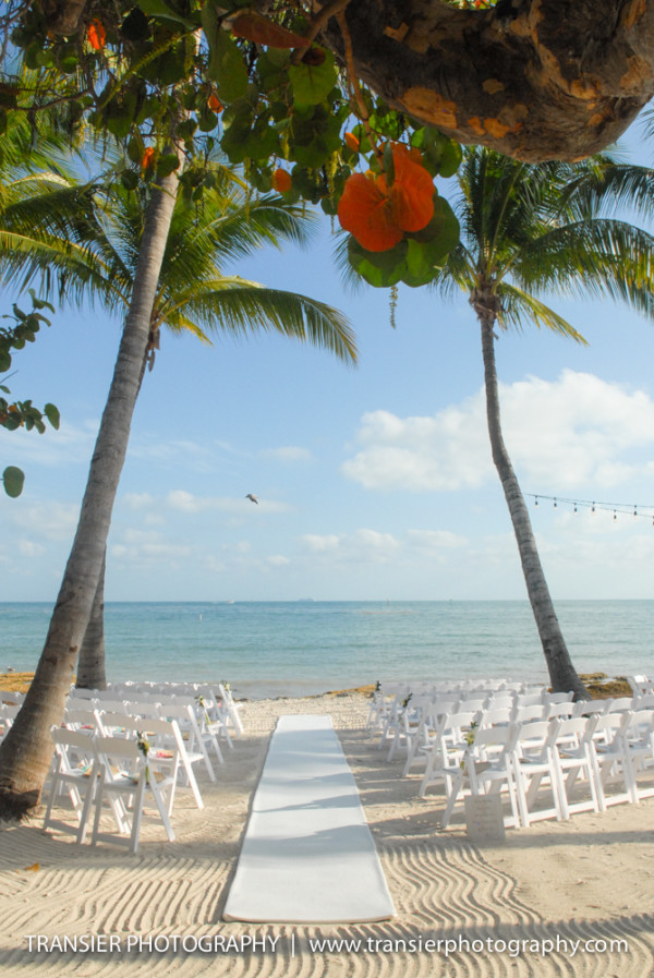Megan + Steve's Key West beach wedding at Casa Marina Resort